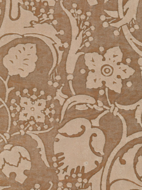 5625 PERSEPOLIS in driftwood monotones Fortuny Printed Cottons