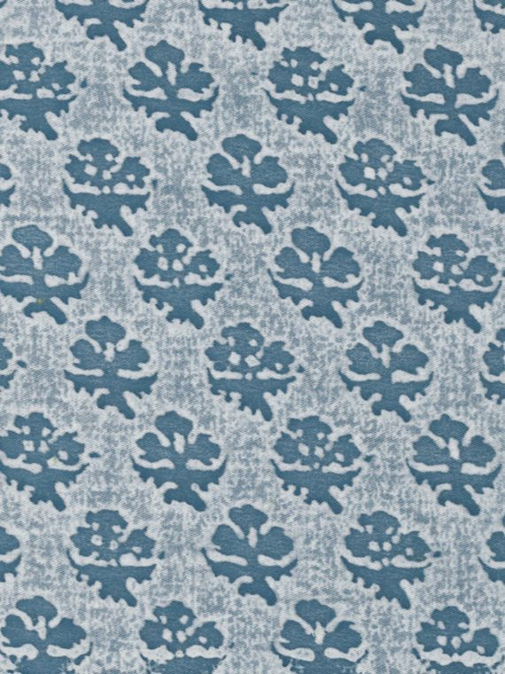 5049 PERSIANO in white & blue Fortuny Printed Cottons