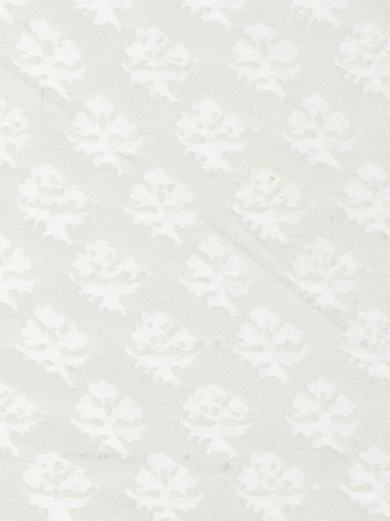 5101 PERSIANO in white on white Fortuny Printed Cottons