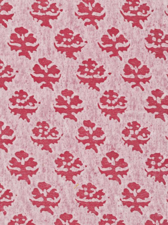 5102 PERSIANO in red & white Fortuny Printed Cottons