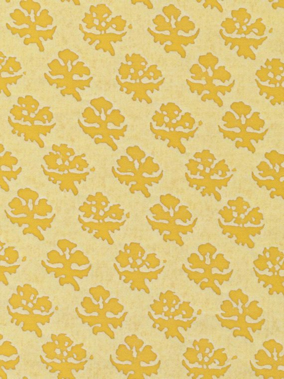 5378 PERSIANO in citron monotones Fortuny Printed Cottons