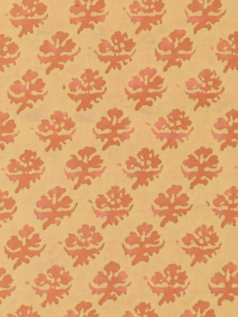 5539 PERSIANO in apricot monotones Fortuny Printed Cottons