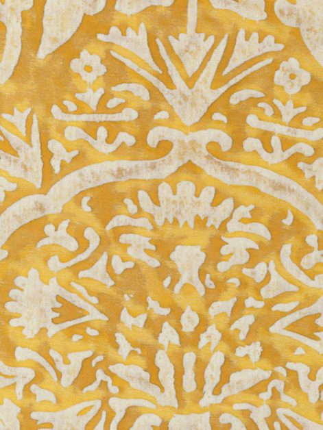 5461 PIAZZETTA in yellow & white Fortuny Printed Cottons