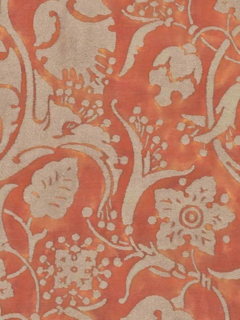 5623 PERSEPOLIS in bittersweet & gold Fortuny Printed Cottons