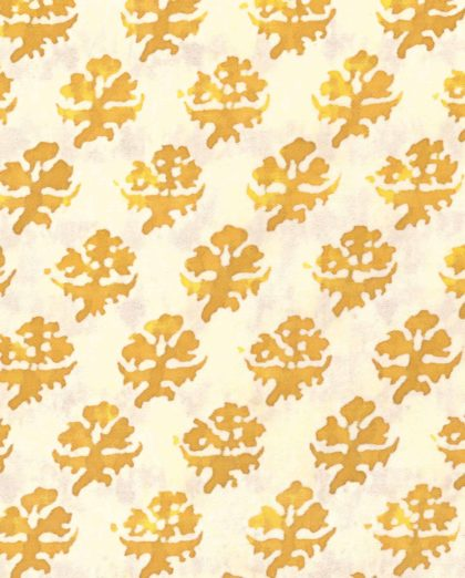 5124 PERSIANO in yellow & white Fortuny Printed Cottons