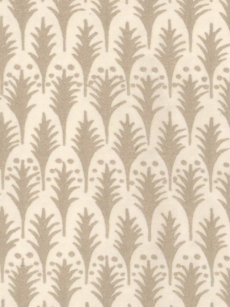 5656 PIUMETTE in ivory & gold Fortuny Printed Cottons