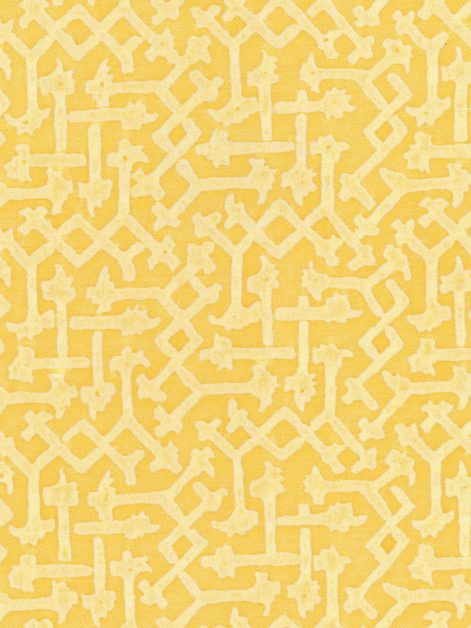 5548 RABAT in citron monotones Fortuny Printed Cottons