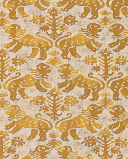 5480 RICHELIEU in yellow & white Fortuny Printed Cottons