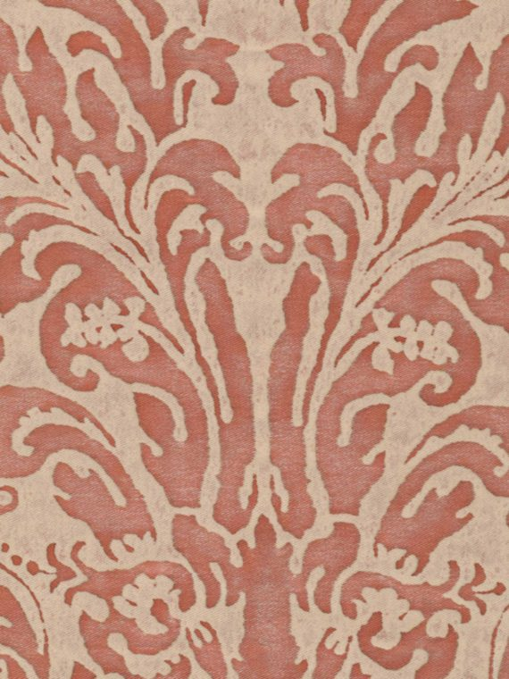 5479 SEVRES in old rose & beige Fortuny Printed Cottons