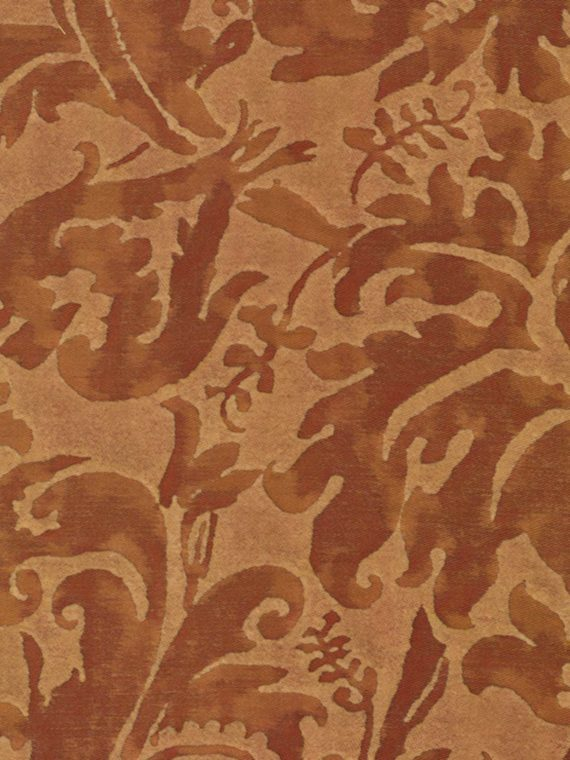 5631 SEVRES in rust & beige Fortuny Printed Cottons