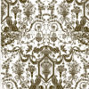 tan & black Fortuny Printed Cottons
