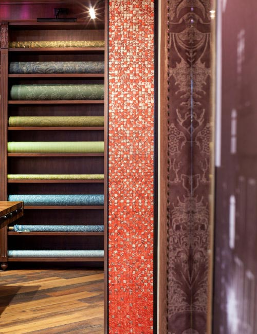 Fortuny New York Showroom Mosaics by SFreihon