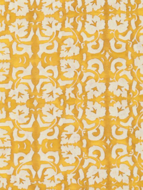 5471 SHIRAZ in yellow & white Fortuny Printed Cottons