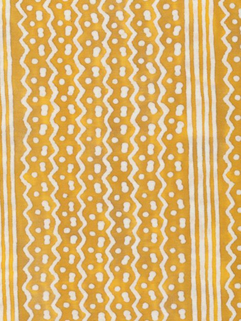 5403 TAPA STRIPE in yellow & white Fortuny Printed Cottons