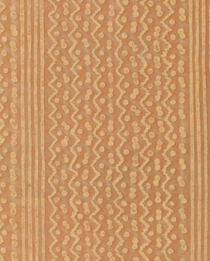 5544 TAPA STRIPE in apricot monotones Fortuny Printed Cottons