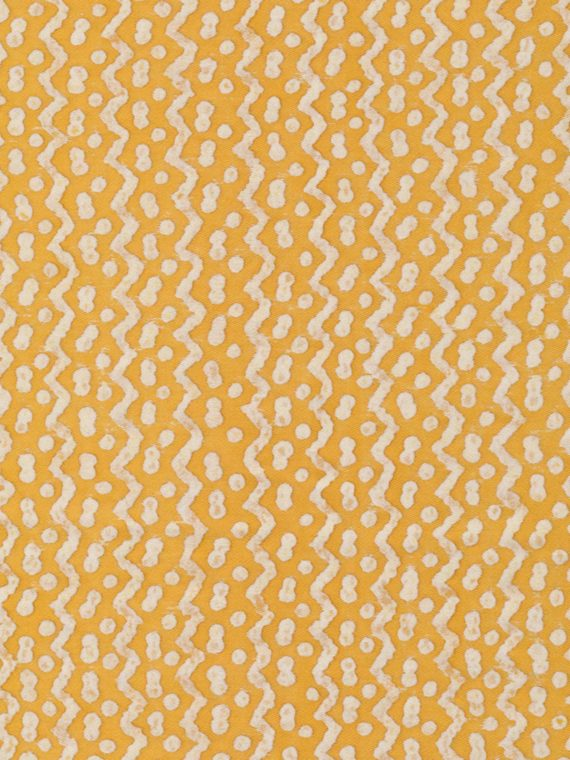5484 TAPA in yellow & white Fortuny Printed Cottons