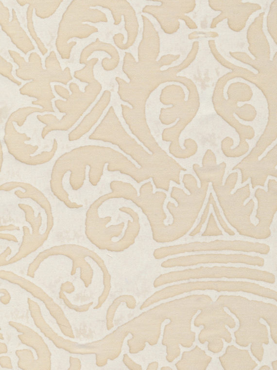 5155 UCCELLI in moonlight & white Fortuny Printed Cottons
