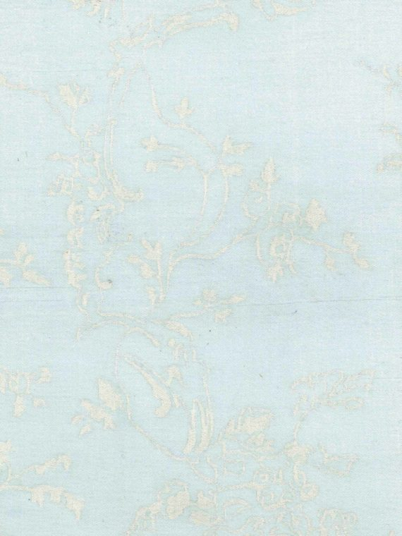 5641 VENEZIANINA in powder blue & white Fortuny Printed Cottons