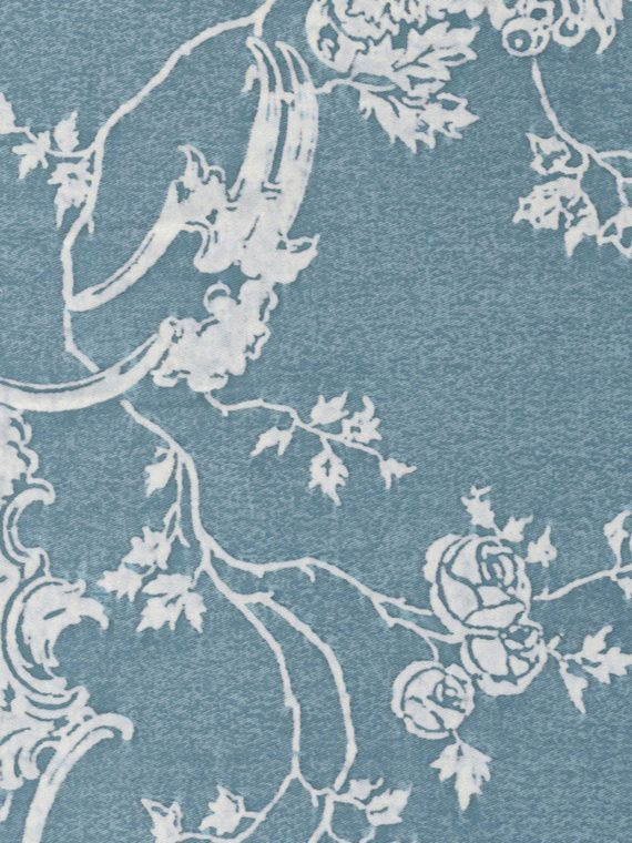 5192 VENEZIANO in blue & white Fortuny Printed Cottons