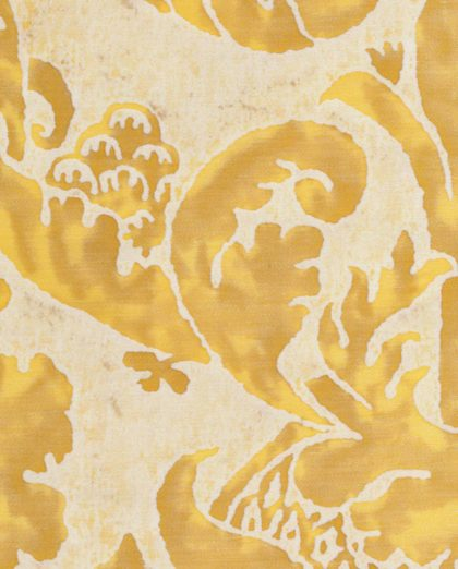 5271 VIVALDI in yellow & white Fortuny Printed Cottons