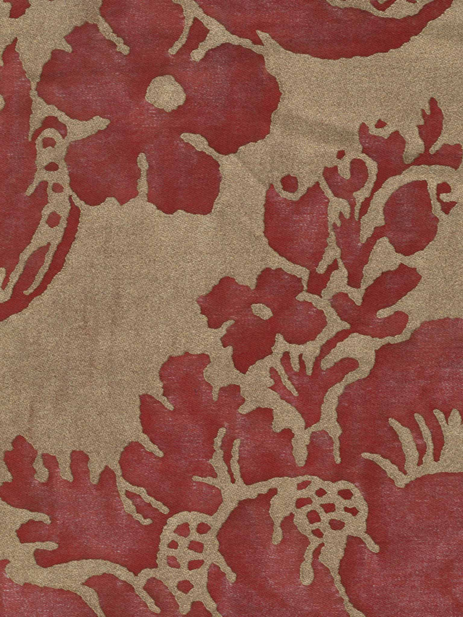 Vivaldi in red gold fortuny 5289 vivaldi in red gold fortuny printed cottons sisterspd