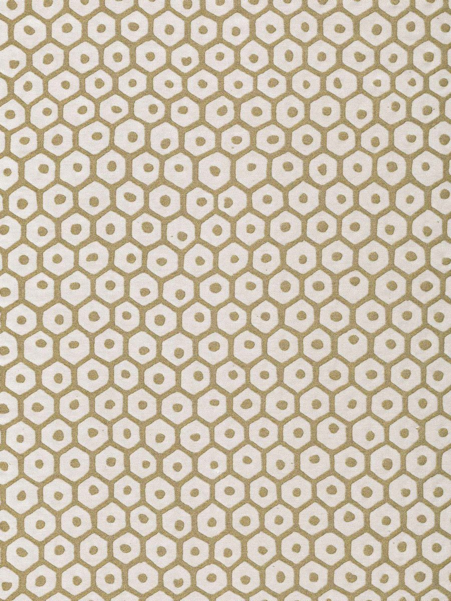 5835 FAVO in bone & gold Fortuny Printed Cottons