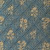 5861 JUPON BOUQUET in petrol & gold Fortuny Printed Cottons
