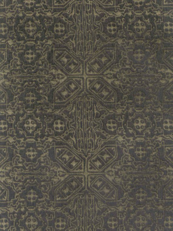FF-8011 MORESCO in whippet & silvery gold Fortuny Velvets