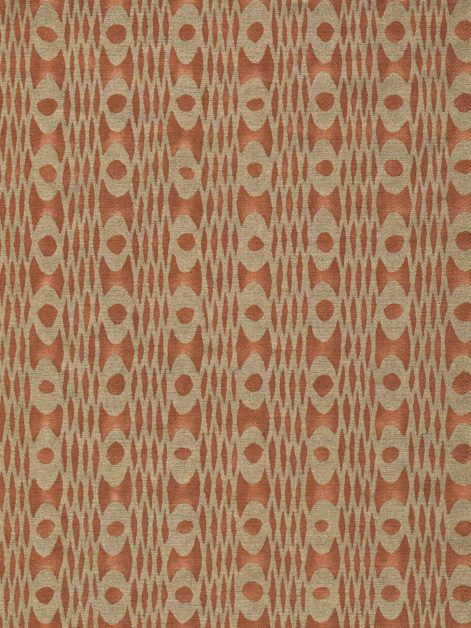5910 UNITË in spice & gold texture Fortuny Printed Cottons