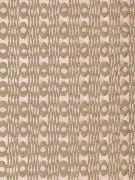 5912 UNITË in barely pink & gold Fortuny Printed Cottons