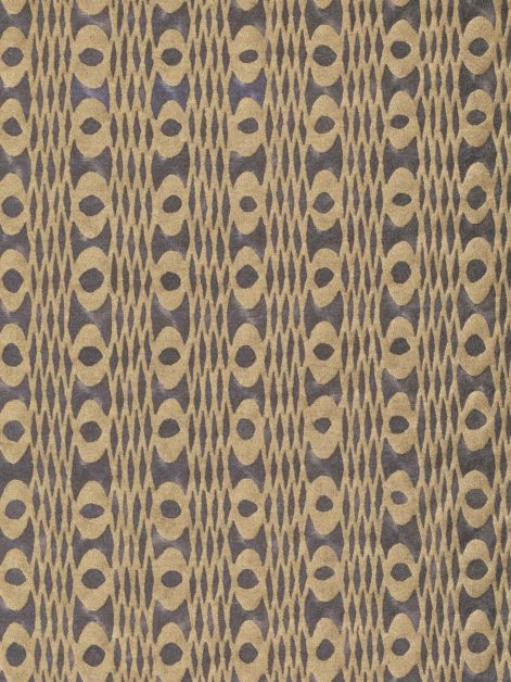 5914 UNITË in smoke & gold Fortuny Printed Cottons