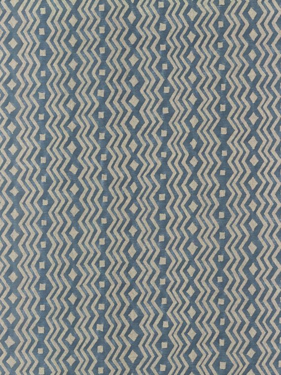 5951 ITZINA in grey storm & silver Fortuny Printed Cottons